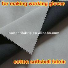 Cotton+TPU/PTFE +polar fleece laminated 3 layers bondedn fabric