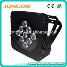 9x10w led flat par can 4in1 led par light rgbw /led stage lighting