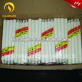Candele della famiglia bianca 28g imballaggio della scatola immagini/candele illuminazione bianca