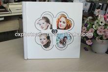 romantic wedding photo album cover