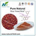 natureza pura feita de arroz vermelho do fermento extrato de pó
