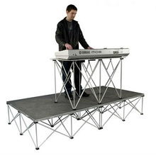 30cm high DJ band display platform stage,portable mobile stage