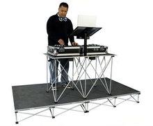 DJ band display stage,portable mobile stage