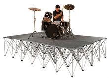 mini DJ band display platform stage,portable mobile stage