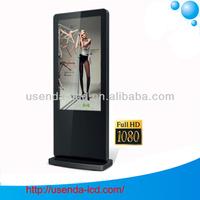 42 46 55 inch floor-standing wifi network vertical lcd advertising monitor