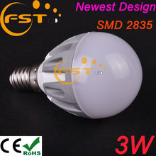 Led produttore lampadina 3w smd2835 185-265v 180 gradi