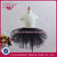 2013 fashion black baby dresses petticoat