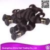2013Grade 5a no shedd brazilian hair remy new hair guangzhou shine hair trading