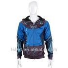 Custom mens fashion zipper hoodie