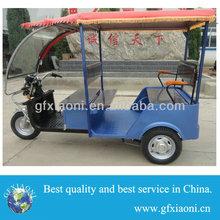 Manual and electric dual used HI-Q bicycle rickshaw