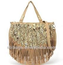 fashion ladies handbags &khaki hobo bags ladies tassel bag& cheap tassel bags for four seasons