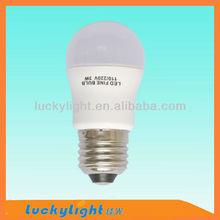 3w led bulb light 520lm, 110-240V AC, CE&RoHS certificate