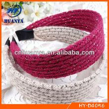 handmade winter crochet waffle headband
