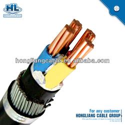 2013 Best Seller 0.6/1kV 6/10kV 8.7/15kV 26/35kV CU/AL Conductor XLPE/PVC Insulated&Sheathed Wire Resistance