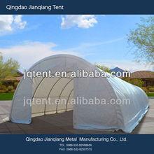 JQR3085 steel frame waterproof PVC/PE fabric big tent