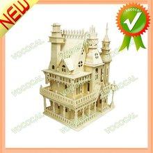 3D Wooden Puzzle Assemble Toy