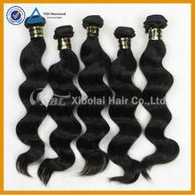 XBL Hair wholesale no shedding 100% human virgin hair for chinese hair bulk