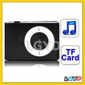 شعبية tf( مايكرو التنمية المستدامة) لاعب بطاقة فتحة mp3 اغاني مع مشبك معدني( الأسود)