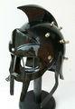 Médiéval gladiateur MAXIMUS gréco-romaine de SPIKE armure noir SCA LARP casque