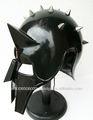 Médiéval gladiateur MAXIMUS gréco-romaine de SPIKE armure ARMOUR noir SCA LARP casque