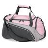Pink gym sports duffle bag women ladies