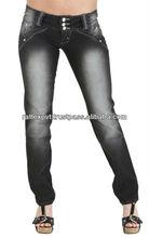 Best Black Shaded Levanta Stylish Branded Women Jeans 2013