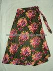 printed long skirts flower models