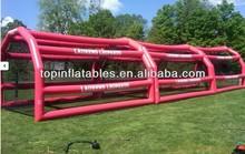 Guangzhou air-sealed inflatable baseball batting cage