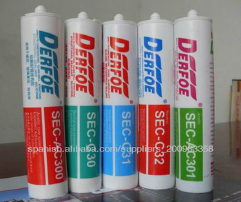 100% RTV colored silicone sealant, fast cure, black, white, red, glue, grey and clear, factory supply