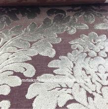 Fabric Upholstery Dyed Velvet