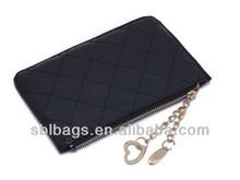 hot sale !!cheap ladies party clutch purse for sale &fancy purses for ladies black wallet