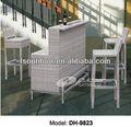 barra de vime mobiliário cadeira de bar