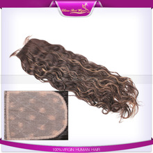 new style lace closure piece