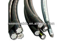 China Leading Manufacturer Duplex Overhead ABC Cable Wire 50mm2