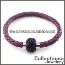Charms For Charm Bracelets Hot Sales Magnetic Bracelet Leather Snap Bracelet