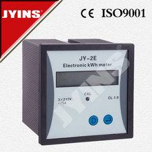 JY series high quality CE LCD Three phase digital energy meter JY-2E