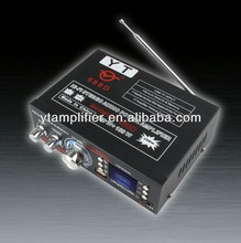 12v / 220v car lighting mp3 audio subwoofer amplifier YT-688D with usb/tf