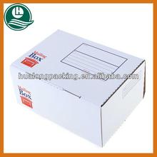Manufacture corrugated cardboard white box