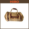 2013 hot sale canvas and leather tote bag in China Alibaba