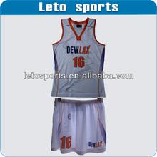 custom sublimation basketball skirts made in china
