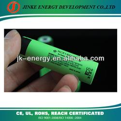 Li-ion rechargeable panasonic 18650 battery for printer