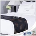 100% algodão de luxo king size cama de linho