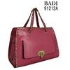 Badi Satchel bag with rivet on the edge woman handbag