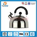 Yeni ürün kaliteli paslanmaz çelik ıslık çaydanlık, su ısıtıcısı