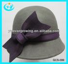 2013 high quality ladies fashion cloche hat Wholesale women wool felt hat australian bucket hat
