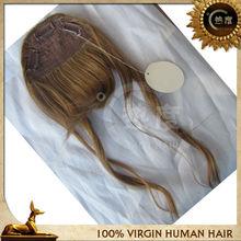 100% human hair wigs bangs hair pieces bags human hair bang fringe