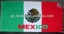 Beach Towel, Made of 100% Cotton, Eco-friendly Printing, Nice Color Fastness and Texture
