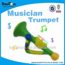 Trumpet musical toy plastic trumpet