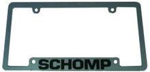 4-Hole Custom Chromed Plastic Thin Top License Plate Frame