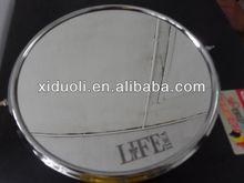 corner bathroom mirror/giant mirrors/alloy cosmetic mirror